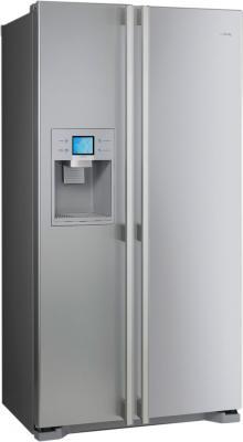Холодильник с морозильником Smeg SS55PTL1 - общий вид