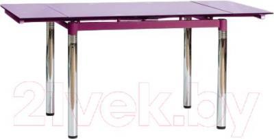 Обеденный стол Signal GD018 (фиолетовый)