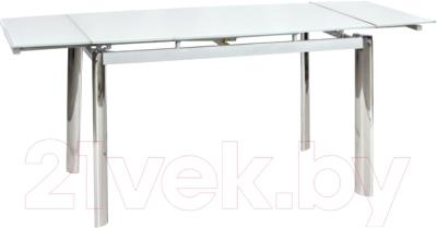 Обеденный стол Signal GD019 (70x100, белый)