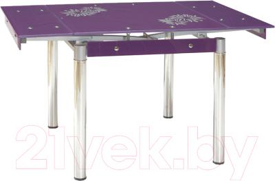 Обеденный стол Signal GD082 (фиолетовый)