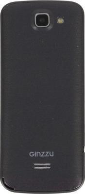 Мобильный телефон Ginzzu M101 Dual (черный) - вид сзади