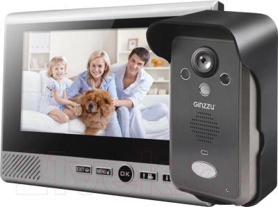 Видеодомофон Ginzzu HS-WD701B