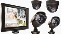 Комплект видеонаблюдения Ginzzu HS-T704KB -