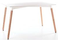 Обеденный стол Signal Nolan (120x80, белый) -