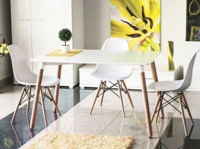 Обеденный стол Signal Nolan (120x80, белый)