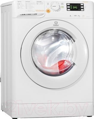 Стирально-сушильная машина Indesit XWDE 861480X W EU