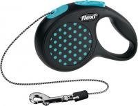 Поводок-рулетка Flexi Design 12162 (ХS, синий) -