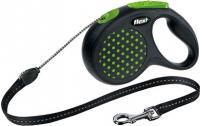 Поводок-рулетка Flexi Design 12174 (S, зеленый) -