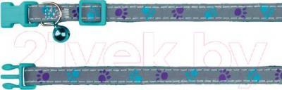 Ошейник Trixie 41871 (светоотражающий, с колокольчиком) - общий вид