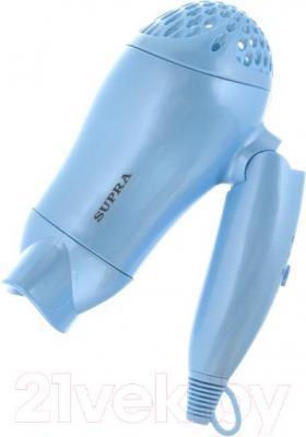 Компактный фен Supra PHS-1200 (голубой)