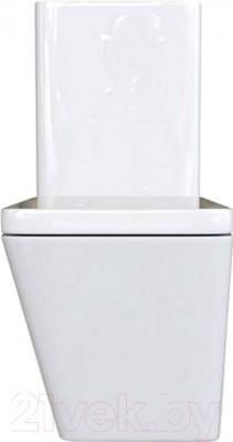 Унитаз напольный Laufen Alessi Dot (8239064000001) - вид спереди