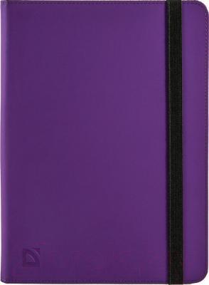 Чехол для планшета Defender Booky 26053 (фиолетовый) - общий вид