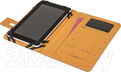 Чехол для планшета Defender Favo Uni 26061 (серо-оранжевый) - в открытом виде