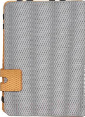 Чехол для планшета Defender Favo Uni 26061 (серо-оранжевый)