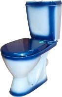 Унитаз напольный Rosa Ресса (синий) -