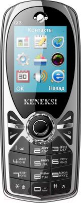 Мобильный телефон Keneksi Q3 (черный)