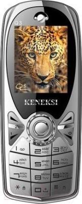 Мобильный телефон Keneksi Q3 (серебристый)