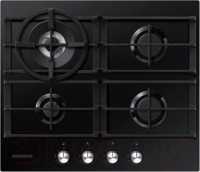 Газовая варочная панель Samsung NA64H3030AK/WT - с подставкой для сковороды вок