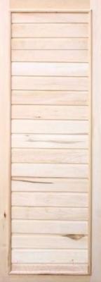 Деревянная дверь для бани Doorwood 750x1850 (вагонка, липа)