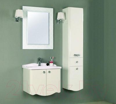 Зеркало для ванной Акватон Венеция 75 (1A151102VNL10) - в интерьере