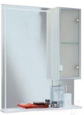 Шкаф с зеркалом для ванной Акватон Альтаир 65 (1A1000L1AR01R)