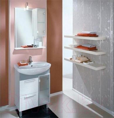 Шкаф с зеркалом для ванной Акватон Альтаир 65 (1A1000L1AR01R) - в интерьере
