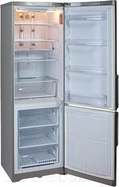Холодильник с морозильником Hotpoint HBC 1181.3 X NF H