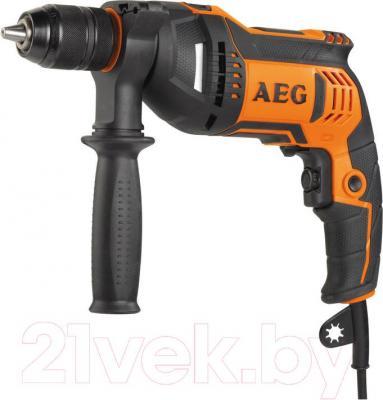Профессиональная дрель AEG Powertools SBE 705 RE - общий вид
