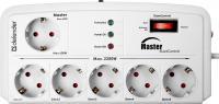 Сетевой фильтр Defender DFS-805 / 99453 (5м, 6 розеток, белый) -