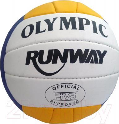 Мяч волейбольный Runway Olympic 1182/AB