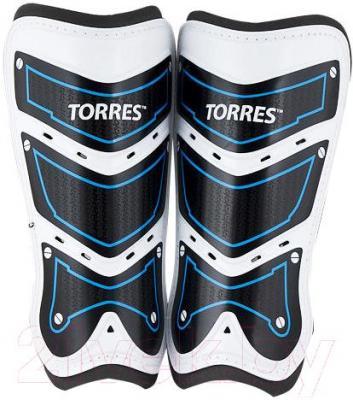 Футбольные щитки Torres FS1505L-BU (L)