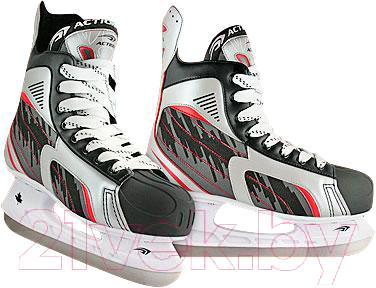 Коньки хоккейные Action PW-216DK (размер 37)