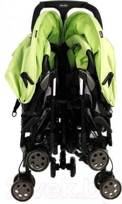 Детская прогулочная коляска Geoby SD593E (GRE) - в сложенном виде