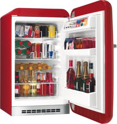 Холодильник без морозильника Smeg FAB10HRR - общий вид