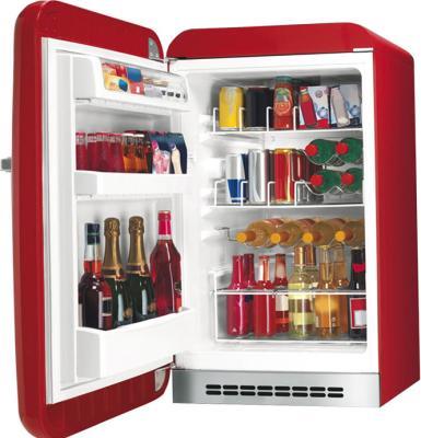 Холодильник без морозильника Smeg FAB10HLR - общий вид