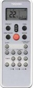 Сплит-система Toshiba RAS-13SKVR-E2/RAS-13SAVR-E2 - пульт ДУ