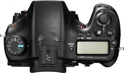 Зеркальный фотоаппарат Sony Alpha SLT-A77VK - вид сверху