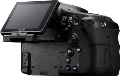 Зеркальный фотоаппарат Sony Alpha SLT-A77VK - общий вид