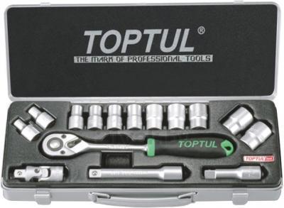 Универсальный набор инструментов Toptul GCAD1502 (15 предметов) - общий вид