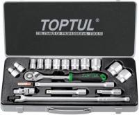 Универсальный набор инструментов Toptul GCAD1802 (18 предметов) -