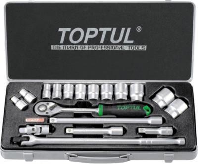 Универсальный набор инструментов Toptul GCAD1802 (18 предметов) - общий вид