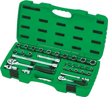 Универсальный набор инструментов Toptul GAAI3102 (31 предмет) - общий вид