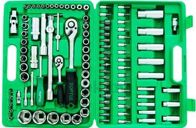 Универсальный набор инструментов Toptul GCAI108B (108 предметов) - вид сверху