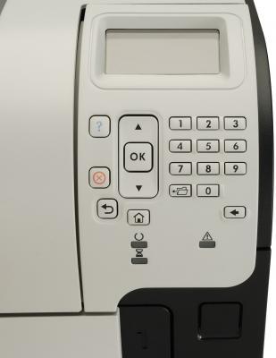 Принтер HP LaserJet Enterprise 600 M603dn (CE995A) - вид панели управления