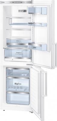 Холодильник с морозильником Bosch KGE36AW30R - Общий вид