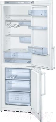 Холодильник с морозильником Bosch KGV36XW20R - Общий вид