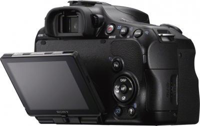 Зеркальный фотоаппарат Sony Alpha SLT-A57K - вид сзади