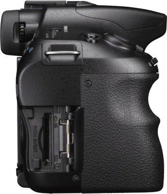 Зеркальный фотоаппарат Sony Alpha SLT-A57K - вид сбоку