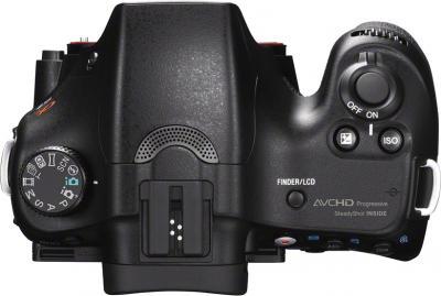 Зеркальный фотоаппарат Sony Alpha SLT-A57K - вид сверху