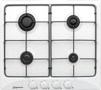Газовая варочная панель MasterCook 2MIE-4GLS B - общий вид